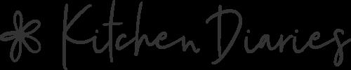 kitchen diaries logo mit blumenicon